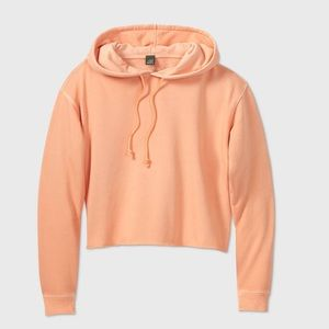 Women's Fleece Cropped hoodie